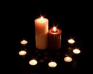 Свечи для зеркальной защиты от порчи